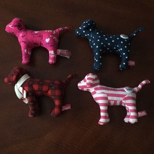Victoria's Secret PINK Mini Dogs Set of 4